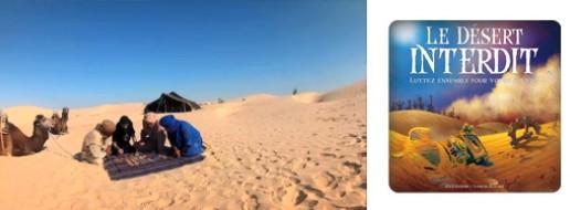 Le désert Interdit, de la partie