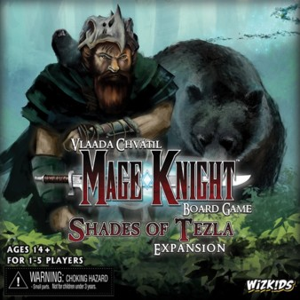 Mage Knight Board Game: Shades of Tezla Expansion