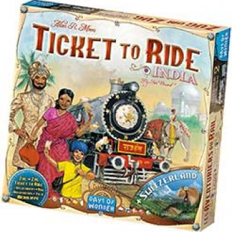 Les Aventuriers du Rail : Inde & Suisse