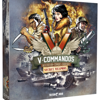V-Commandos : Secret Weapons