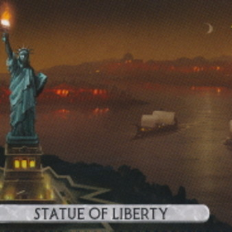"""7 Wonders - Duel - Extension """"Statue de la Liberté"""""""