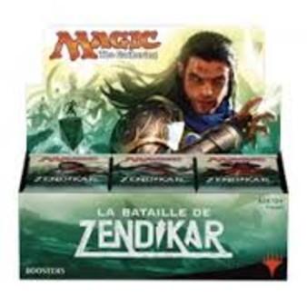 """Magic """"the Gathering"""" ; La Bataille de Zendikar : pack d'intro et booster pack"""