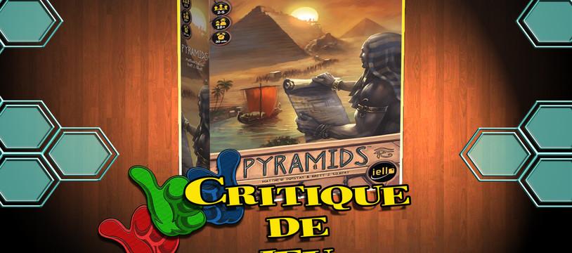 """Mes """"Parties"""" Pris fait la critique du jeu Pyramids"""