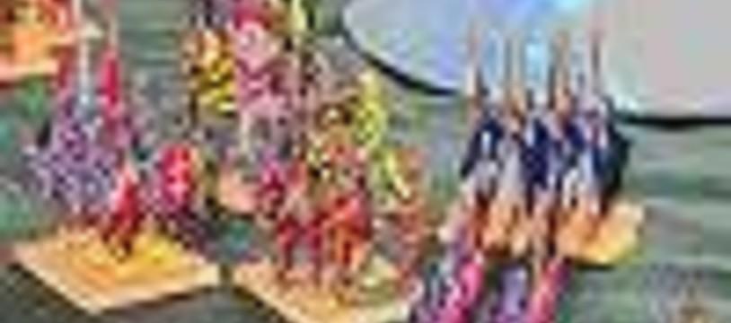 Tournoi de jeu de figurines historiques