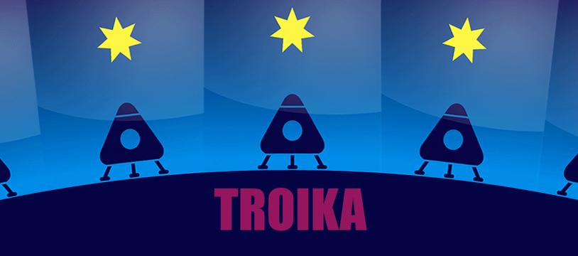 Troïka : trois chevaux dans l'espace