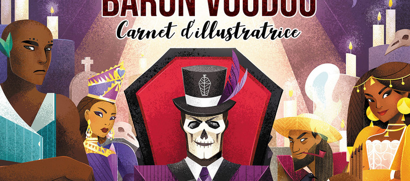 Baron Voodoo - Carnet d'illustratrice