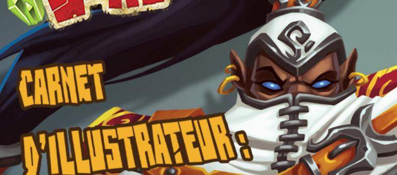 Carnet d'illustrateur : Clash of Rage (Djib) - Partie 2 !