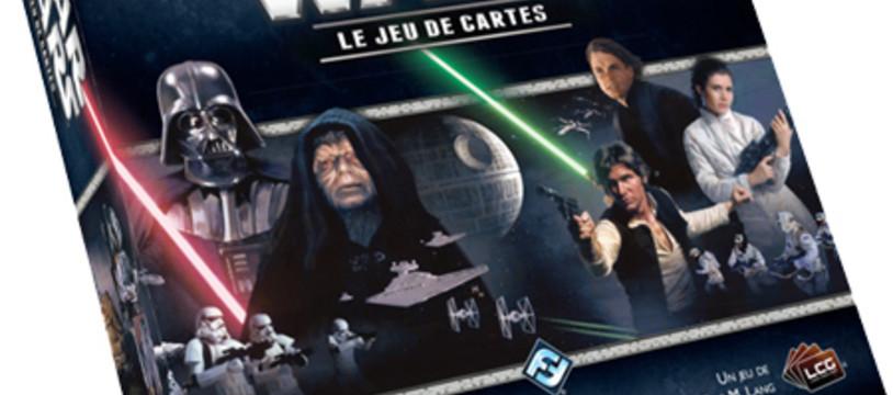 Star Wars le jeu de cartes sur les étals