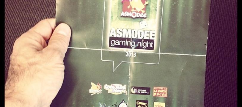 Asmodee Gaming Night 2013
