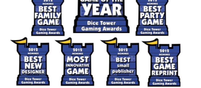 Les nommés pour le Dice Tower Award sont