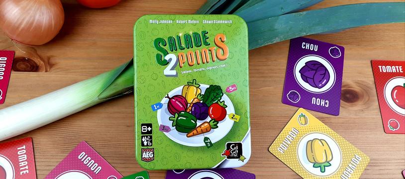 Salade 2 Points :  un jeu bien huilé