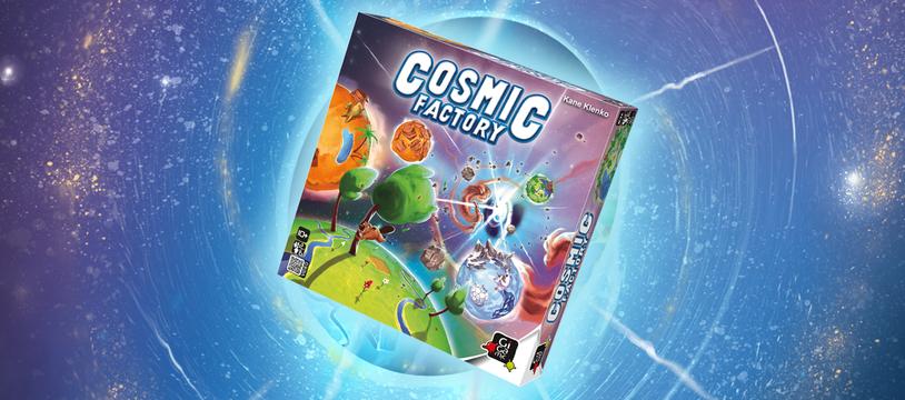 Cosmic Factory : 100.000 milliards d'années en un claquement de main