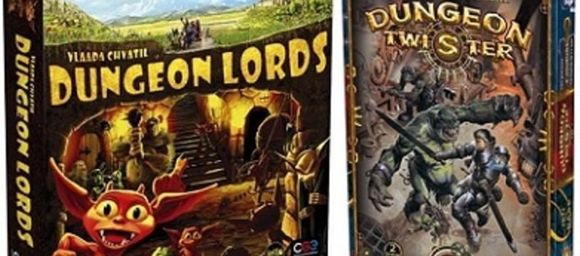 [Hem présente] Dungeon Lords & Dungeon Twister !
