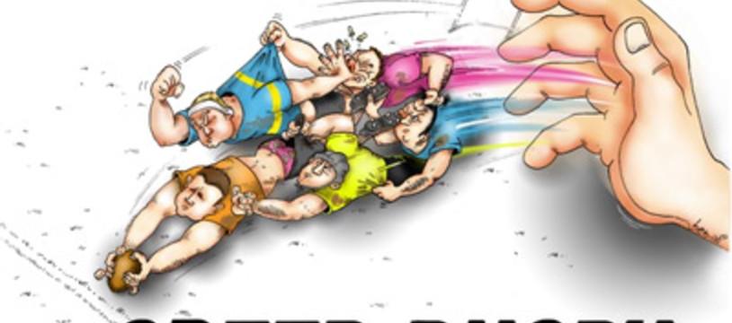 Le rugby en 5 dés et une piste