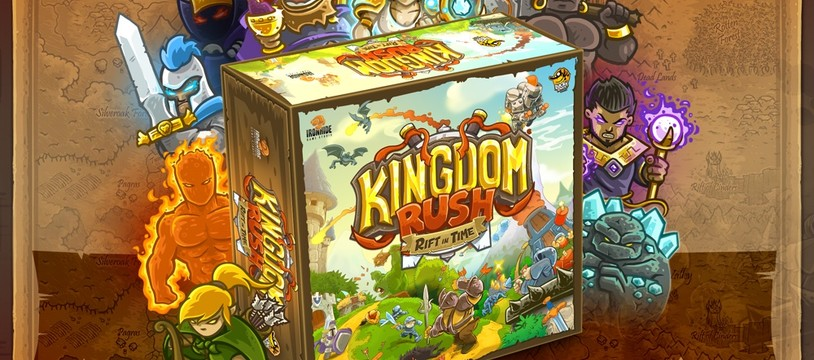 KingdomRush : Rift in Time, le TowerDefense de plateau !