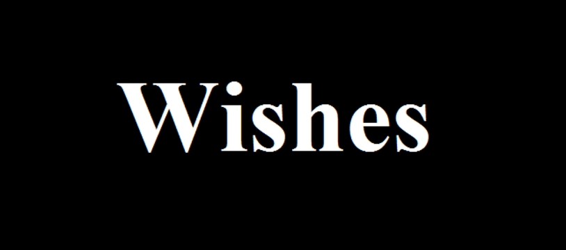 Le dernier PNP  : Wishes