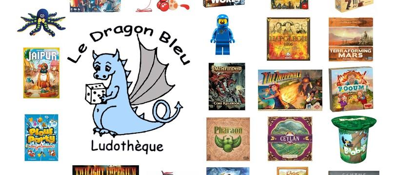 Soirée jeux au Dragon Bleu à Marly Le Roi (78) Samedi 4 Janvier