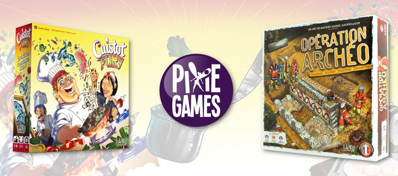 Cuistot Fury et Opération Archéo sont chez Pixie Games