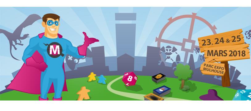 5ème édition du festival Happy'Games de Mulhouse