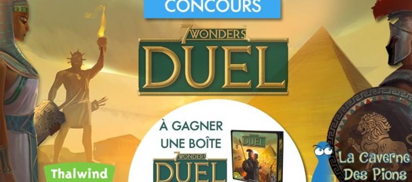 Concours pour gagner une Boite de 7 Wonders Duel !