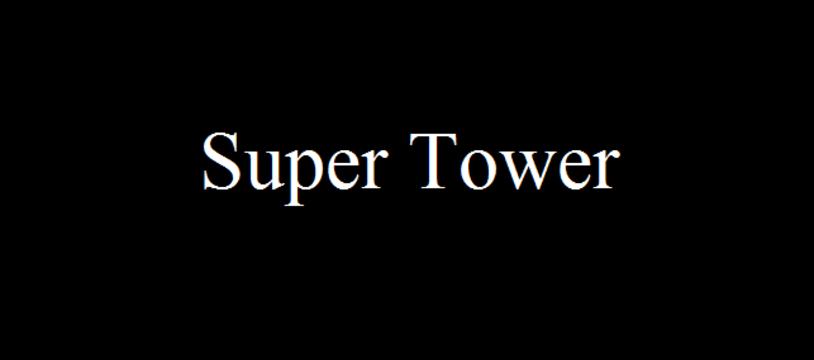Le jeu gratuit du samedi :  Super Tower