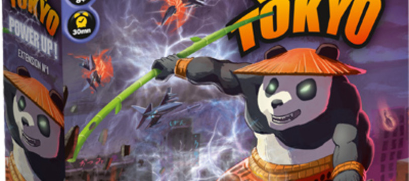 Power Up, une extension pour King of Tokyo