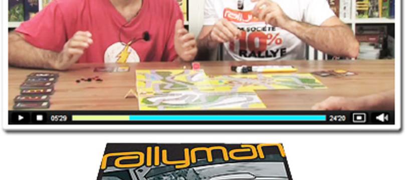 Rallyman, une partie dans la Tric Trac TV