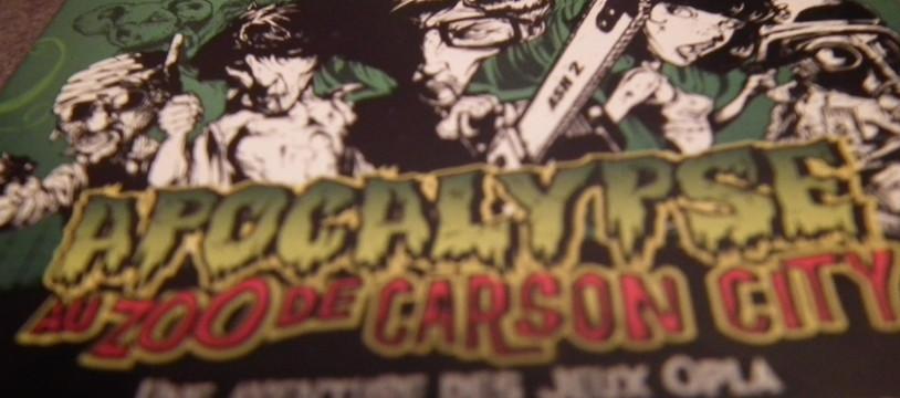 Apocalypse au zoo de Carson City : Un jeu mortel!