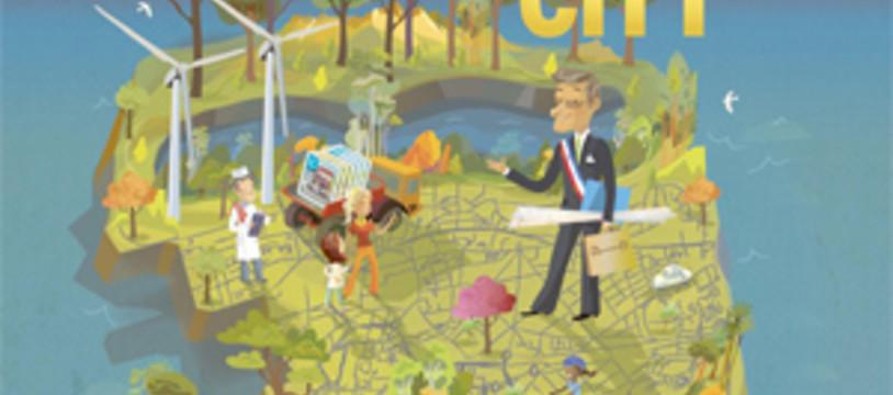 Card City d'Alban Viard pour Essen