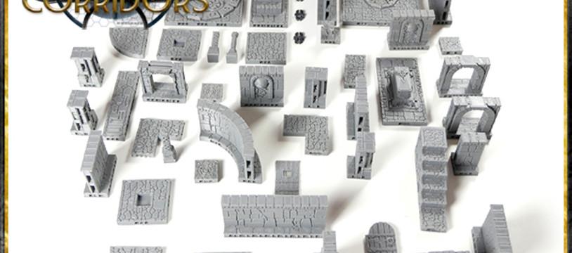 """Lancement officiel de """"The lost Corridors"""" sur Kickstarter."""