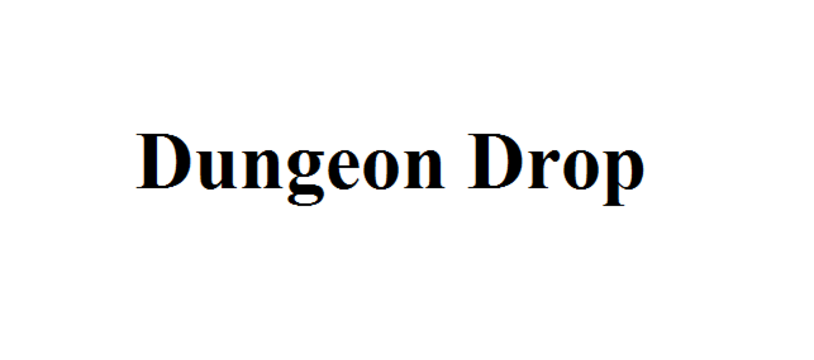 Le Kickstarter du lundi : Dungeon Drop