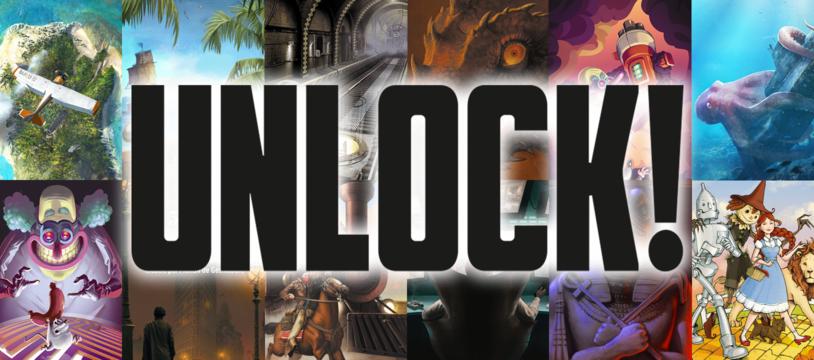 Unlock ! : 2017 - une année d'évasion