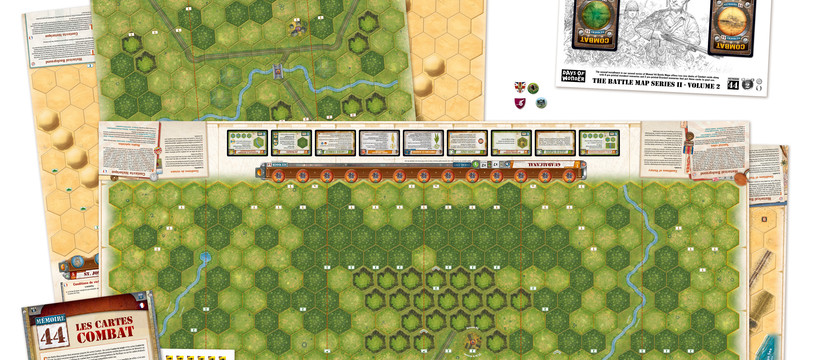 Mémoire 44 - Battle Maps : J'ai marché dans l'désert... et moi, j'suis dans la jungle jusqu'au cou...