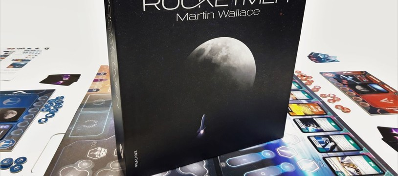 Rocketmen : Wallace part pour mars en janvier sur Kickstarter