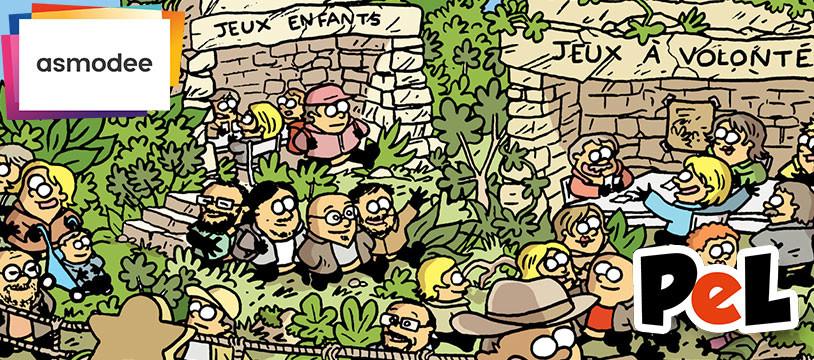 Retrouvez Asmodee à Paris est Ludique pour faire le plein de jeux !