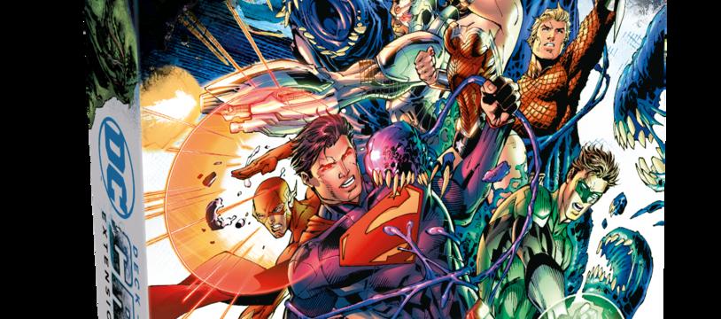 DC Crisis et autres nouveautés pour DC Comics, le jeu de Deck Building