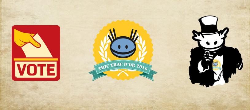 Les Tric Trac d'Or 2016, les votes par catégories, c'est maintenant !