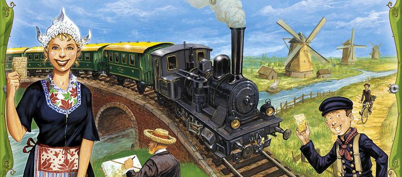 Une nouvelle carte pour les aventuriers du Rail pour Essen