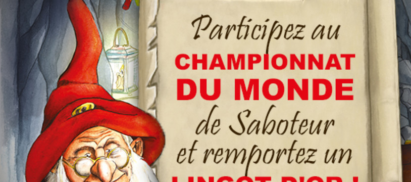 Tournoi international de Saboteur !