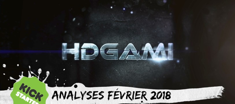 Jeux de société / Kickstarter Février 2018