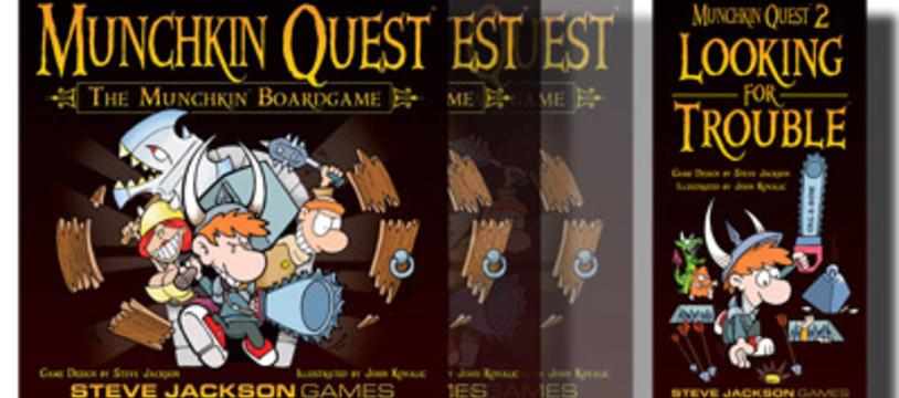 Munchkin Quest s'enrichit avant sa sortie