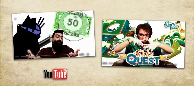 Tric Trac youtube, encore, et parle de la valeur de l'information.