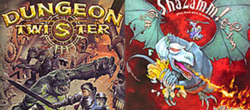 [CyBeRFaB] Dungeon Twister vs Shazamm! ?