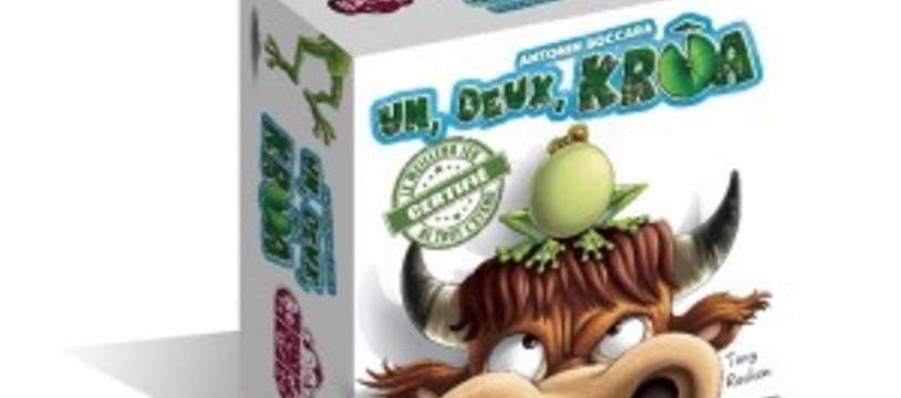 Un auteur vit un jeu qui lui sembla de belle taille… Carnet d'auteur : 1, 2, Krôa !
