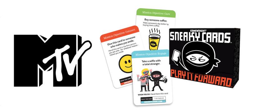 MTV fait la promotion d'un jeu de société qui va débarquer chez nous...