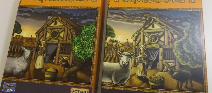 Agricola 10 ans: le comparatif de l'ancienne avec la nouvelle version