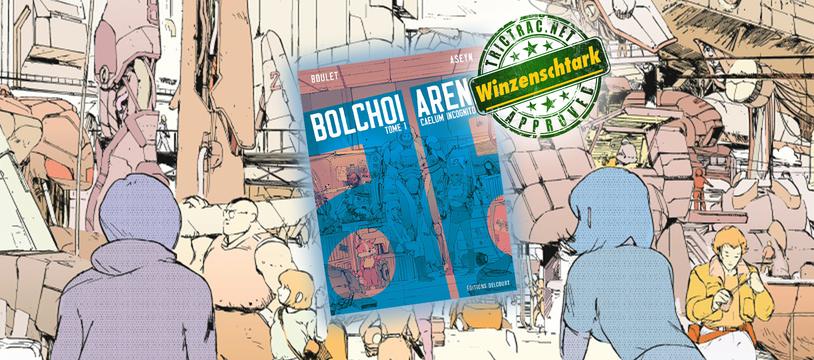 Bolchoï Arena : la BD de SF des 80's du turfu
