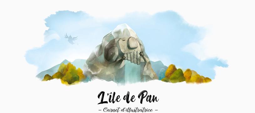 L'Île de Pan - Carnet d'illustratrice