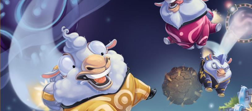 Edenia : Les moutons, la galaxie et le reste ...