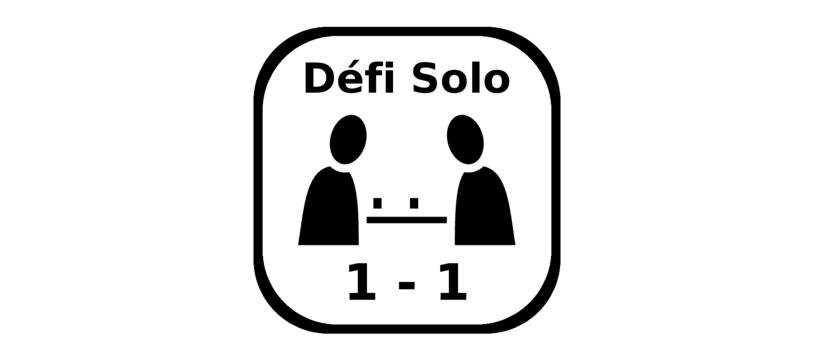 Défi Solo: pas si simple de s'amuser seul...